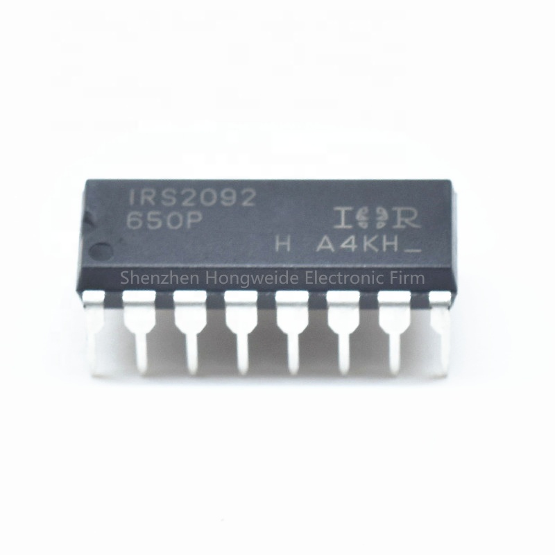 New original IRS2092PBF IRS2092 DIP16 chip de amplificador de áudio Digital ic