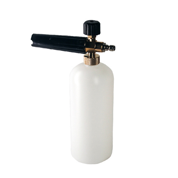 1L Adjustable Snow Foam Cannon Lance, Car Wash Pressure Washer Spray bottle Gun/<strong>Nozzle</strong> With 1/4&quot; Quick <strong>Connector</strong>