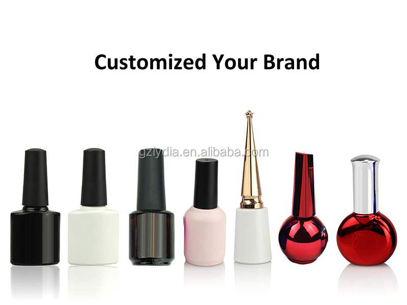 Customized Private Brand High Quality Nail Cuticle Oil For Nail Care With Dried Flower