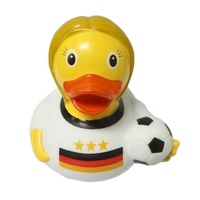 football duck bath duck,Baby's bath toy,Customizable rubber duck