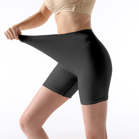 Plus size Sexy Seamless boxer long leg panty nylon womens underwear shorts