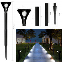 Professional production various styles outdoor security post lighting designer floor solar power lamps led lawn light for garden