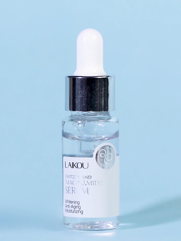 Sérum facial en NIACINAMIDE, 17ml, éclaircissant et hydratant, pour la peau, livraison gratuite, OEM/ODM