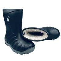 Wholesale Euro Market Eco-friendly PU Warm Winter Waterproof Kids Snow Boot