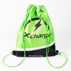 Sporty Drawstring Backpack handled eco-friendly shoe bag non woven bag