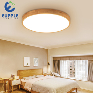 New!ultra thin 5cm living creative decorative wooden led lamp for bedroom