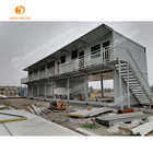 Light Steel Frame Building Low Cost Prefabricated House Light Steel Structure Villa