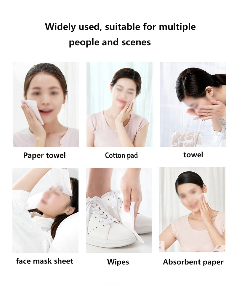 Pure cotton disposable compressed magic compressed face towel