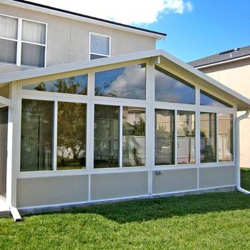 De Lujo De Templado De Vidrio Casa Casa Verde Terraza De Aluminio De Madera Sala De Sol Buy Casas De Vidrio Modernas Casa De Vidrio Con Aislamiento