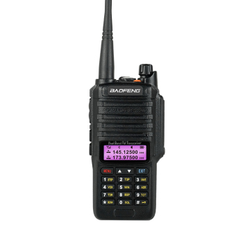 BAOFENG UV 9R walkie talkie dual band with keypad IP67 handheld radio