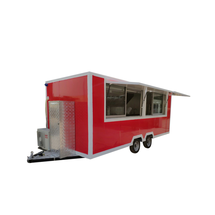 Multifunctional customizable popular Street outdoor solar powered remorque mobile food truck or for <strong>chicken</strong>