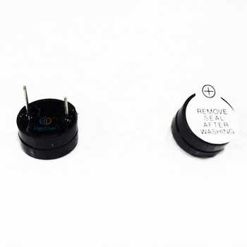 Wholesale Buzzer 9V 12V 12x6.5mm active split type 25mA 12065 DIP2 above 85dB electromagnetic