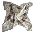 Luxury High Quality Soft Smooth Man Women Fashion Printed 100% Silk Scarf