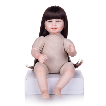 New Arrival Fashion Smiling Soft Silicon Reborn Baby Doll