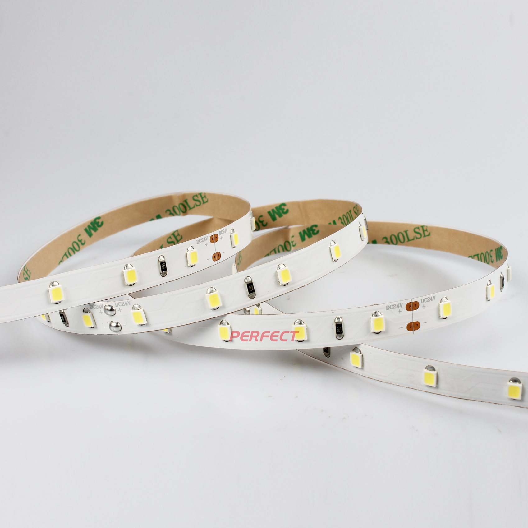 Indoor decoration EXW price DC 24v non-waterproof smd 2835 60 leds/m  with ce rohs listed flexible led strip