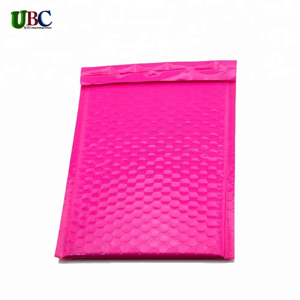 pink bubble mailing bag custom poly mailer shipping bags for clothing