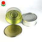 Food grade empty tin cans for food canning fish