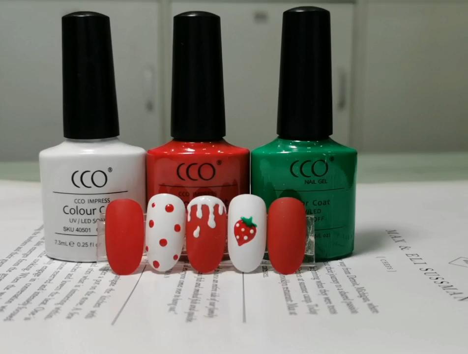 CCO OEM 4000 colors soak off free sample uv gel nail polish Private label uv gel nail polish