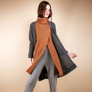 New hot sale cardigan knitted loose women coat ladies sweater