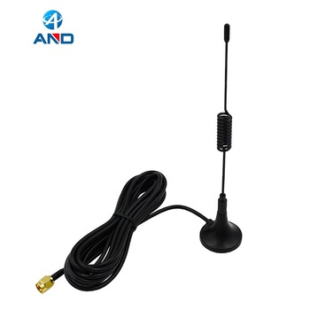 1pc 915MHz Antenna,915 MHz Magnetic Antenna For Wireless Communication with RP SMA male(inner hole)