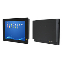 "8.4"" inch Win 7 Win 10 Linux 2 Ethernet PANEL PC for Dual Display Industrial PC with capacitive touch screen OEM/ODM"