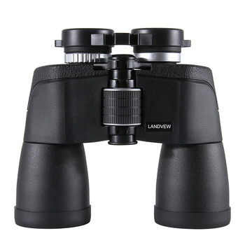 FORESEEN High Definition 10x50 Low Light Level Night Vision Non-Infrared Wide-Angle Large Eyepiece Binoculars