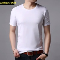 100%cotton t shirt blank white t-shirt and blank wholesale clothing t shirt for men