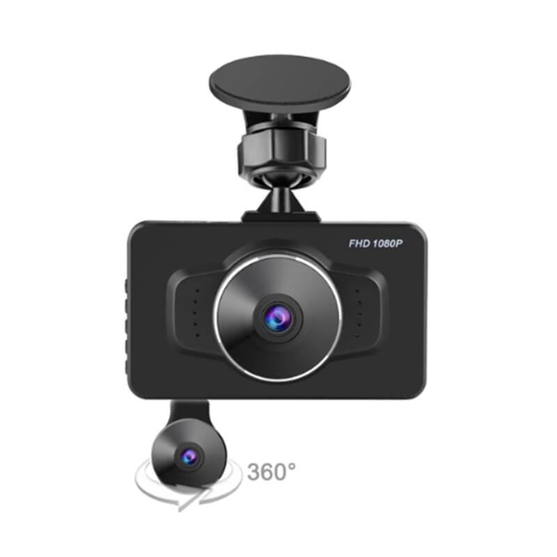 Private Design 3.0 inch Mstar MSC8328P Dual Camera Car DVR Full HD 1080P Sony IMX323 Super Slim Car Black Box