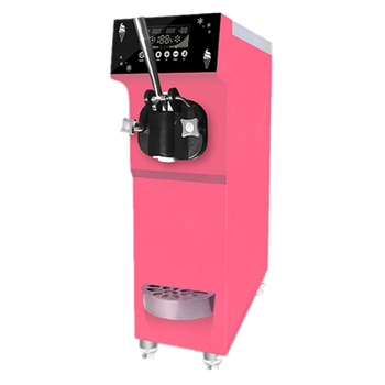 table top high quality stainless steel mini ice cream machine for commercial use