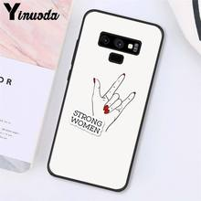 Yinuoda эстетика Минимальная девушка мощность Feminist PhoneCase для samsung Galaxy A50 Note7 5 9 8 10 Pro J5 J6 Prime J610 J6Plus J7DUO(Китай)
