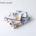 100% Luxury King Size 100% EgyPtian Cotton Bed Sheet Set Linen Bedding Set