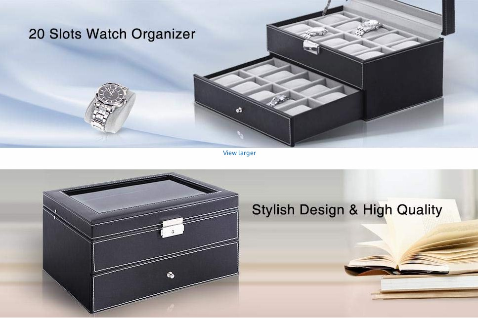 personalized best quality handmade mens ladies black leather watch gift box luxury premium