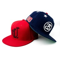 3d puff embroidery hat 3d puff embroidered snapback caps, custom embroidery your logo snapback hat with printing brim