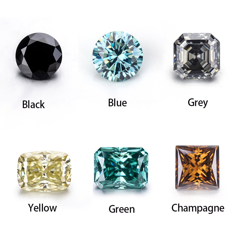 Hot sale Top Quality fancy cut gemstones synthetic white moissanite Diamond