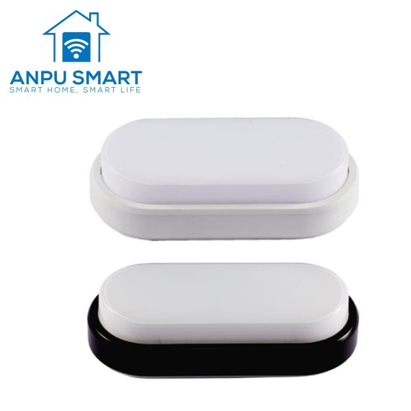 ANPU Ip54 E27 Bulkhead Wall Light/Led Bulkhead รอบโคมไฟ CE ROHS