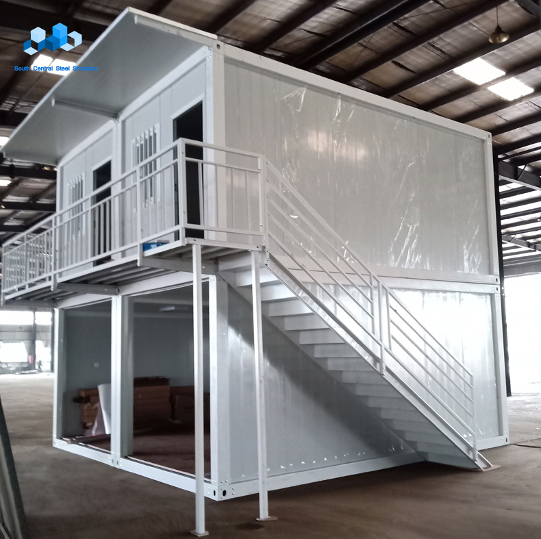 luxury fabricated living container house portable house