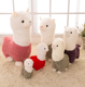 creative alpaca plush baby doll cartoon llama plush toy oyuncak brinquedo juguete de peluche wholesale dropship