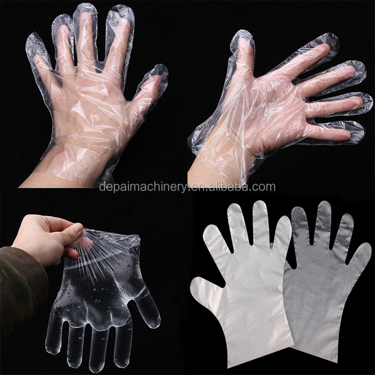 High speed high quality disposable nitrile plastic gloves making machine price
