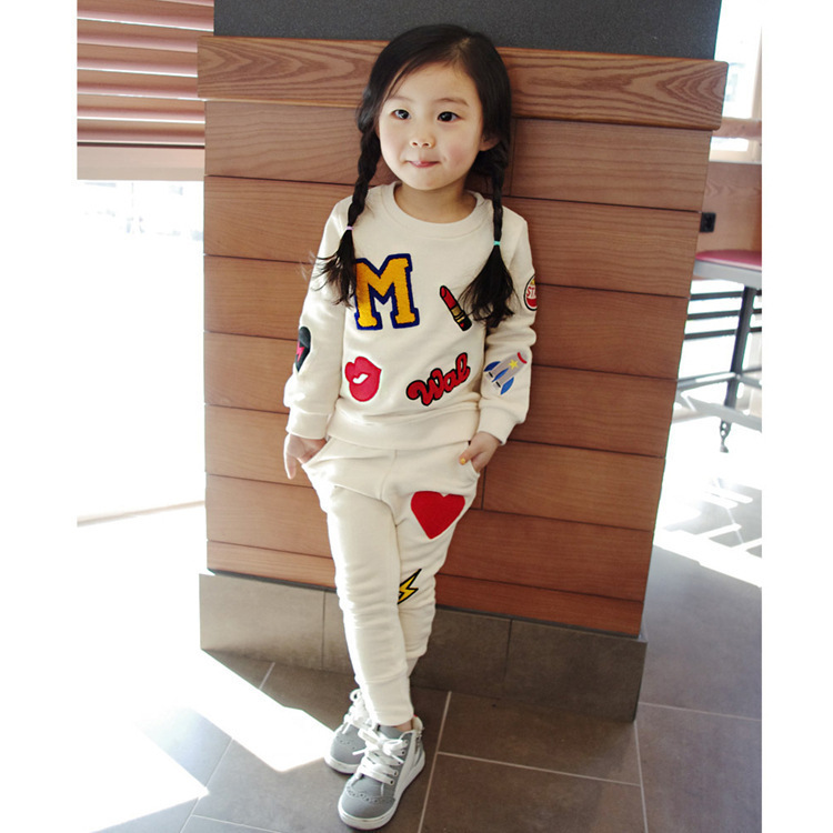 Z83457B Cheap kid clothes set for girls clothes