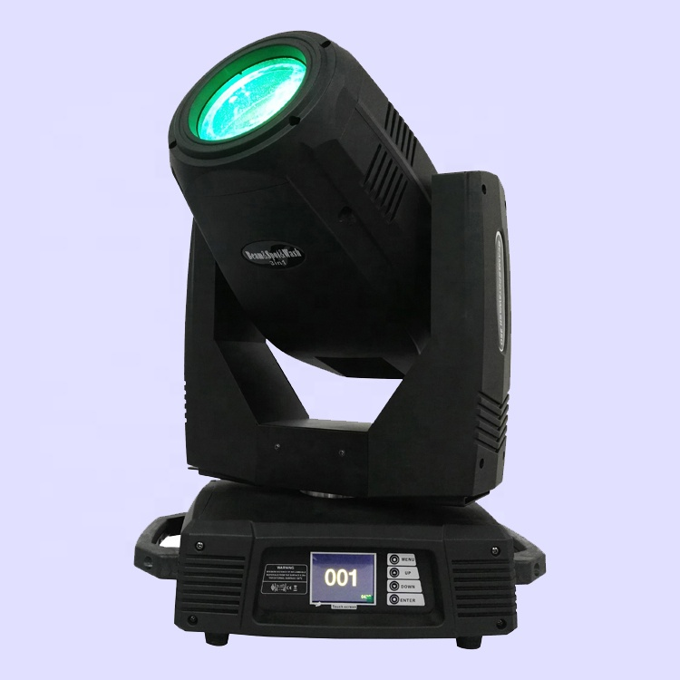Pro 350W MSD R17 350Watt 0-60 degree Zoom Frost Foggy Rainbow Spot Beam Wash 3in1 Hybrid 17R 350 Watt Moving Head Disco Light