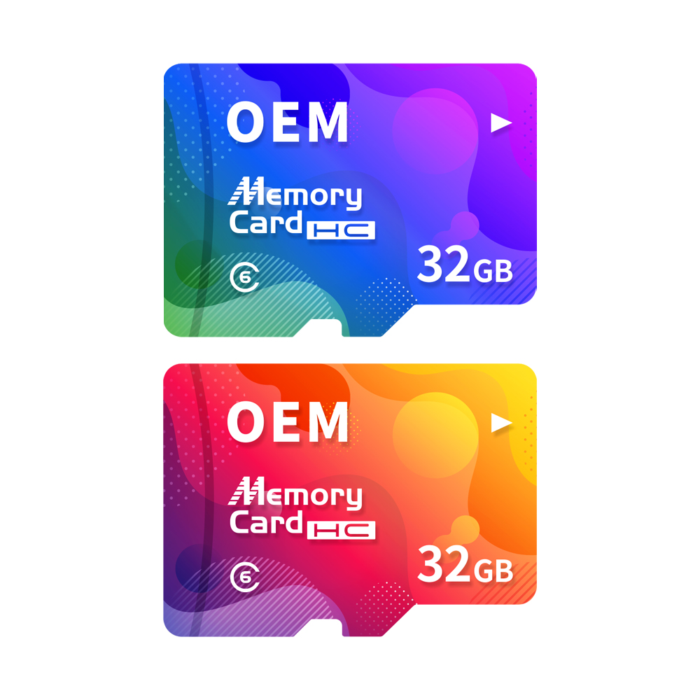 32GB Class 6 Micro SD memory card/TF Card, factory whosale custom logo and package accepted