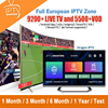 Dragon IPTV Europe IPTV M3U subscription French Spain Sweden Portugal Arabic UK Nordic IPTV for android tv box smart tv box PC