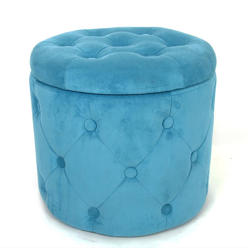 living room furniture design velvet folding stool chai