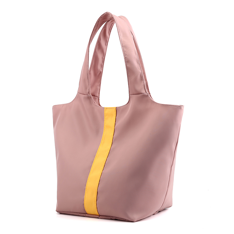 New design packable tote bag nylon women <strong>shoulder</strong> waterproof