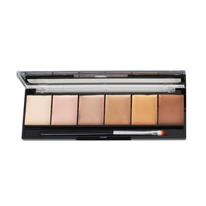 Best Sale High Quality Bronze Colors Custom 6 Colors Eye Shadow Palette