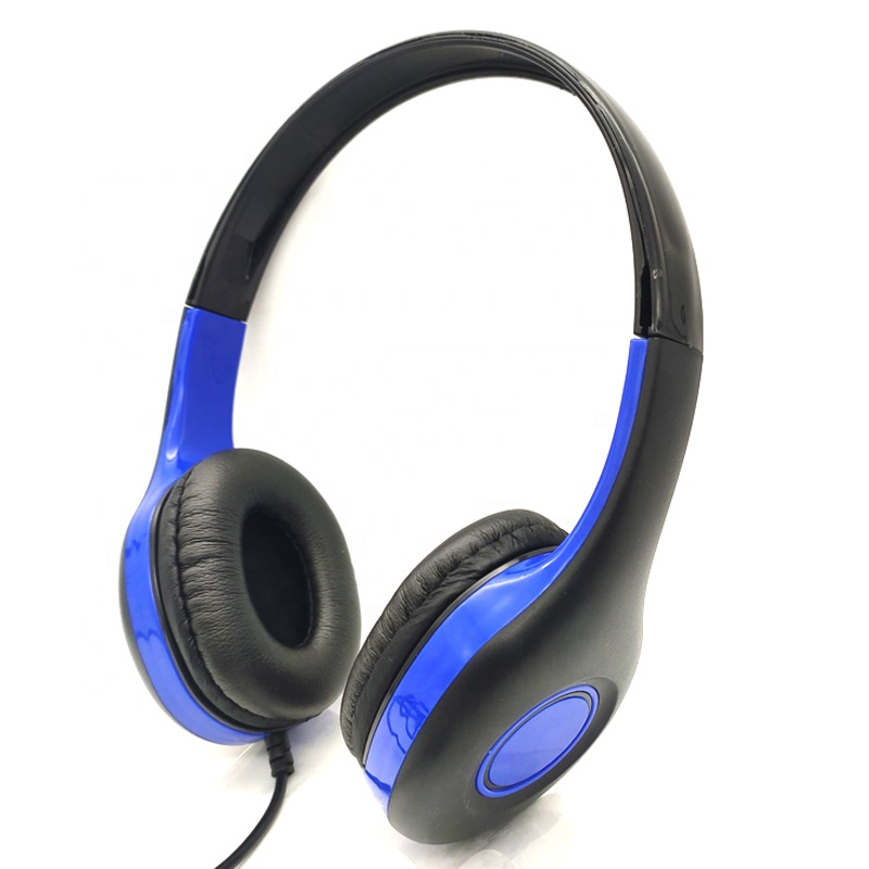 Promotional Headphone Adjustable Stereo Headset with Mic for pc headset cheap headphone