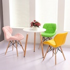 Modern furniture living room beech wood legs kitchen seating colored butterfly leisure chairs for sale