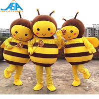 Lovely Bee Yellow Cat Mascotte Costumes Mouse Cosplay Mascot Costumes For Kids