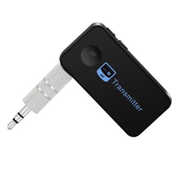 Wholesale 2019 TS-BT35F18 Wireless Bluetooth Car Kit HandsFree Bluetooth Audio Receiver Stereo 3.5mm AUX for Car and TV