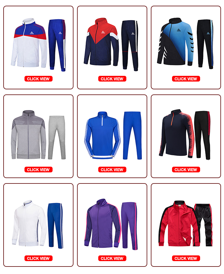 Mens half zip sportswear fitness cheap wholesale latest design soccer tracksuit customer print your own logo slim fit tracksuit